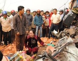 Vụ xe chở 40 người gặp nạn: 4 người đang nguy kịch