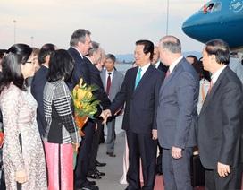 Thủ tướng Nguyễn Tấn Dũng bắt đầu thăm chính thức Cộng hòa Bulgaria