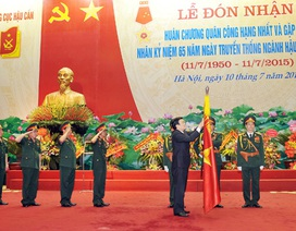 Chủ tịch nước: Xây dựng ngành Hậu cần tinh gọn nhưng sức chiến đấu cao