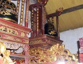 Bi - hài trộm cổ vật đình chùa