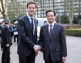 Thủ tướng Nguyễn Tấn Dũng hội đàm với Thủ tướng Hà Lan