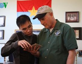 """Cựu binh Mỹ: """"Tôi tôn trọng người lính Việt Nam"""""""