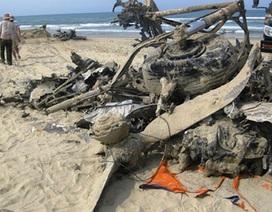 Phát hiện xác máy bay chiến đấu ở bãi biển Lăng Cô