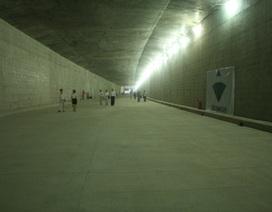 Tháng 11 sẽ thông xe hầm dìm Thủ Thiêm vượt sông Sài Gòn