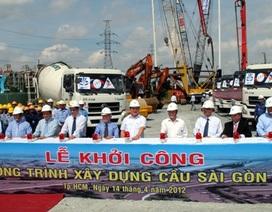 Khởi công cầu Sài Gòn 2
