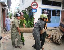 """TPHCM: Quản chặt """"bom"""" khí trên phố"""
