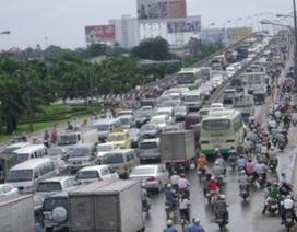 TPHCM: Cấm lưu thông qua cầu Sài Gòn