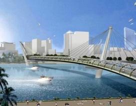 Xây cầu bộ hành qua sông Sài Gòn