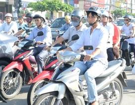 TPHCM chưa thu phí đường bộ xe máy trong năm 2013