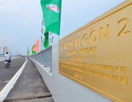 Chính thức thông xe cầu Sài Gòn 2