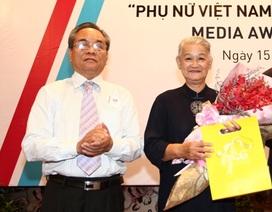 Phát động giải Phụ nữ Việt Nam qua lăng kính nhà báo