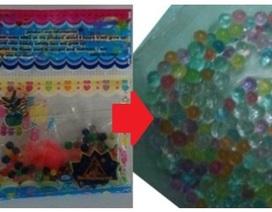 3 học sinh nhập viện sau khi chơi hạt nhựa nở
