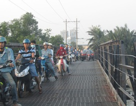 TPHCM: Công bố 129 cầu và 24 đường hạn chế xe lưu thông