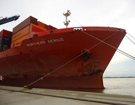 """Cận cảnh """"tàu khủng"""" dài 260m đầu tiên vào cảng biển TPHCM"""
