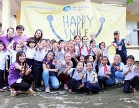 Học sinh Huế và Hà Nội chào mừng 15 năm hành trình Bảo vệ nụ cười Việt Nam