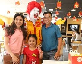 McDonald's tiếp tục khai trương nhà hàng mới tại Việt Nam