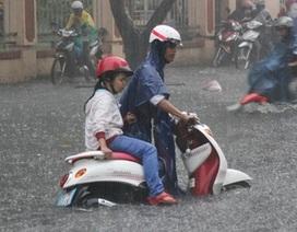 Cách bảo vệ xe ga khi bị ngập nước