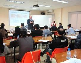 Tuyển sinh Chương trình Thạc sĩ Quản lý dự án Xây dựng khóa 9