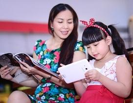 Mẹo giúp bé học tốt với máy tính bảng