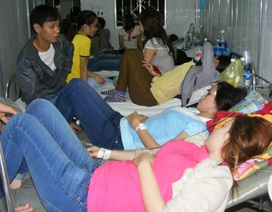 Ngộ độc tập thể ở Đồng Nai: Thực phẩm nhiễm độc tố cao gấp 10 lần cho phép