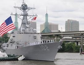 Mỹ cử tàu chiến tham gia tìm máy bay AirAsia mất tích