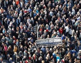 Pháp: Hơn một triệu người xuống đường tuần hành bày tỏ tình đoàn kết