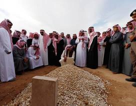 Quốc vương Ả-rập Xê-út an nghỉ trong mộ vô danh