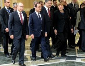 Putin thông báo về lệnh ngừng bắn tại đông Ukraine sau đàm phán 4 bên