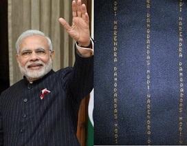 Lễ phục đón ông Obama của Thủ tướng Ấn Độ được trả tới 700.000 USD