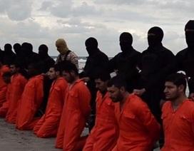 IS tung video hành quyết 21 người Ai Cập theo đạo Cơ đốc