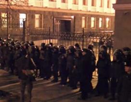 Ukraine: Lính tình nguyện biểu tình đòi xâm nhập phủ tổng thống