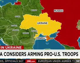 """Truyền hình Mỹ gọi quân đội Ukraine là """"lực lượng thân Mỹ"""""""