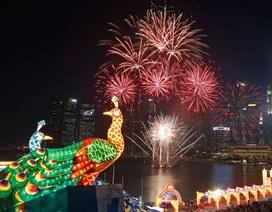 Đảo quốc Sư tử rộn rã chào năm mới
