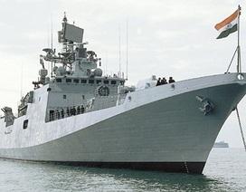 Ấn Độ đóng 7 tàu khu trục, 6 tàu ngầm cạnh tranh với Trung Quốc