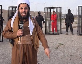 IS nhốt chiến binh người Kurd trong lồng sắt, mang diễu phố