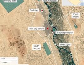 Quân đội Iraq giành được lợi thế ở thành trì của IS