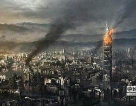 IS đăng ảnh tháp chọc trời của Đài Loan bị thiêu cháy