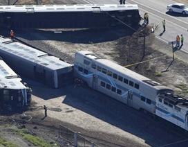 Mỹ: Tàu hỏa đâm xe tải, 28 người bị thương