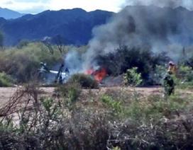 Argentina: 2 trực thăng gặp nạn khi đang quay phim, 10 người chết
