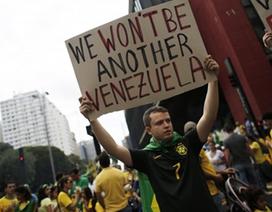 Hơn 1 triệu người Brazil xuống đường biểu tình đòi Tổng thống nhận lỗi