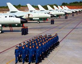 Trung Quốc lần đầu tập trận không quân trên tây Thái Bình Dương
