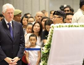 170 lãnh đạo thế giới tới Singapore vĩnh biệt ông Lý Quang Diệu