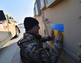 Ukraine nhận 10 xe bọc thép do Mỹ viện trợ