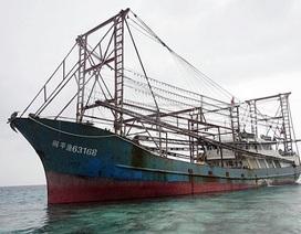 Tàu cá Trung Quốc chìm tại Biển Đông, 6 người mất tích