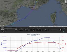 Máy bay Đức đột ngột giảm độ cao hơn 9.000 m trước khi rơi
