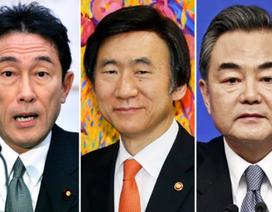 Ngoại trưởng Nhật-Trung-Hàn lần đầu hội đàm sau 3 năm