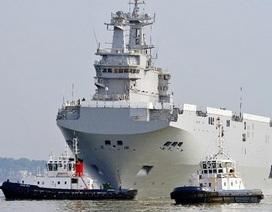 Nga không bắt Pháp bồi thường vì không giao tàu Mistral