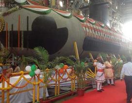 Ấn Độ hạ thủy tàu ngầm tấn công mới