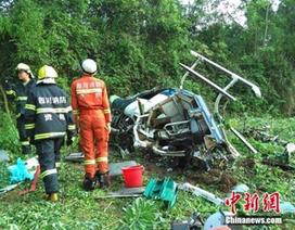 Trung Quốc: Máy bay trực thăng rơi tại Tứ Xuyên, 1 phi công  thiệt mạng