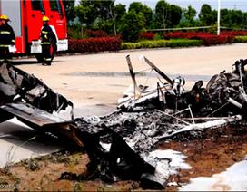 Trung Quốc: Rơi máy bay tại An Huy, 2 người tử nạn